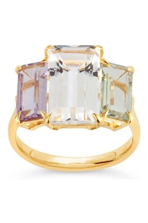 Dinny Hall Women Rings - Suffragette Trinny Trilogy Ring