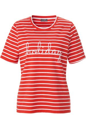 Mybc Women Tops - Round neck top lettering motif size: 10