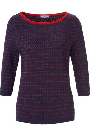 mayfair by Peter Hahn Women Jumpers - Round neck jumper in 100% cotton size: 10