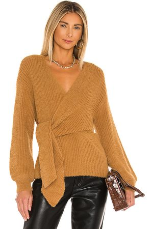 House of Harlow X REVOLVE Khalida Wrap Sweater in . Size M, S, XS.