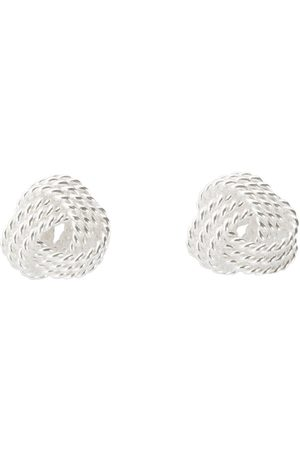 The Love Silver Collection Women Earrings - Knot Studs