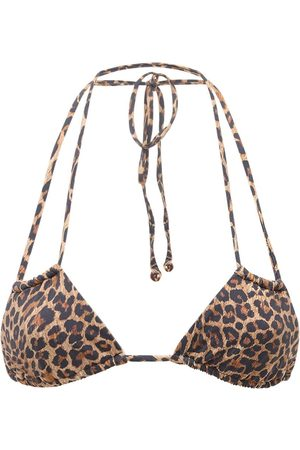 ANEMOS Women Bikinis - Print Double String Bikini Top