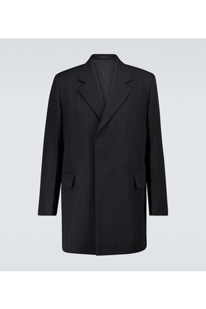 Jil Sander Wool single-breasted overcoat