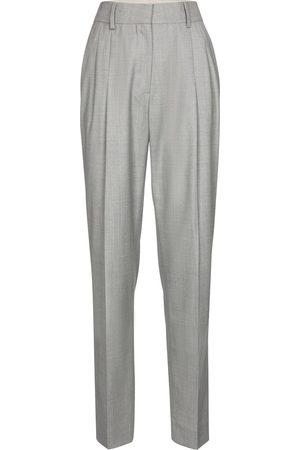 Blazé Milano Banker high-rise wide-leg wool pants