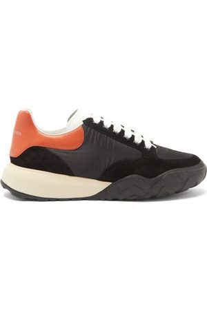 Alexander McQueen Men Trainers - Court Raised-sole Panelled Trainers - Mens - Multi