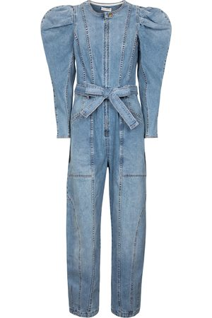 ULLA JOHNSON Pascale denim jumpsuit