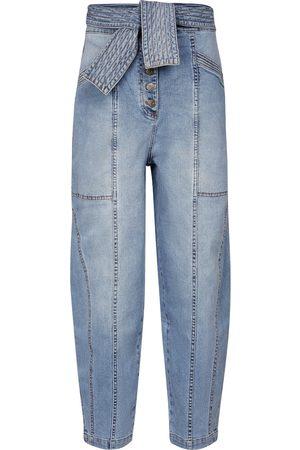 ULLA JOHNSON Otto high-rise straight jeans