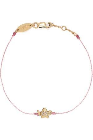 Redline 18kt yellow diamond teapot bracelet
