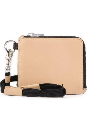 Marni Bi-colour compact zip wallet