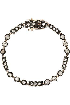 Mindi Mond 9K yellow gold and diamond bracelet