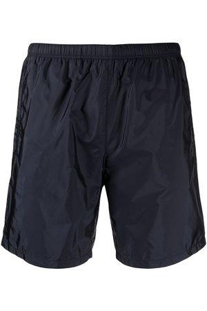 Prada Logo patch recycled nylon swim shorts