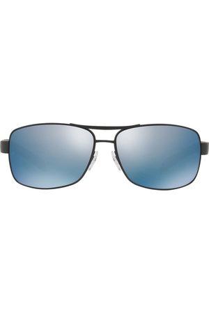 Prada Prada Linea Rossa tinted square frame sunglasses