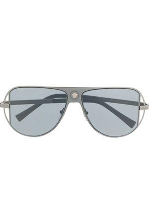 VERSACE Medusa-detail aviator sunglasses