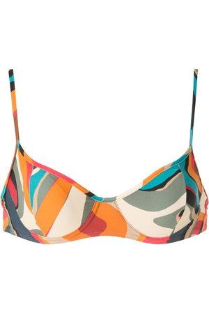 Lygia & Nanny Fiji printed bikini top