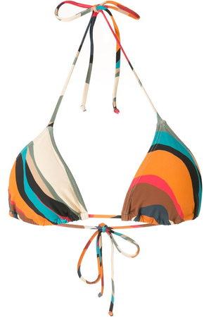 Lygia & Nanny Liso printed bikini top