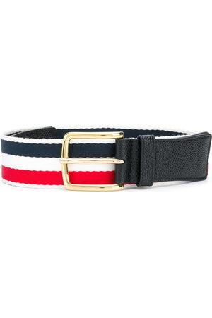 Thom Browne Pebbled leather belt