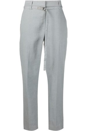 Brunello Cucinelli High-waisted tapered trousers