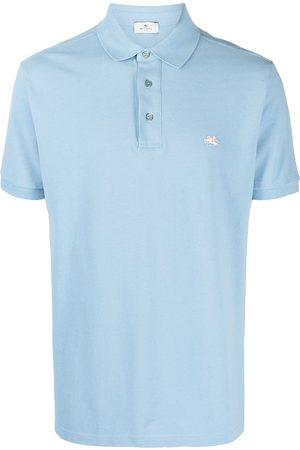 ETRO Logo embroidered polo shirt