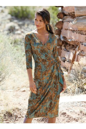 Peruvian Connection Falling Leaves Dress