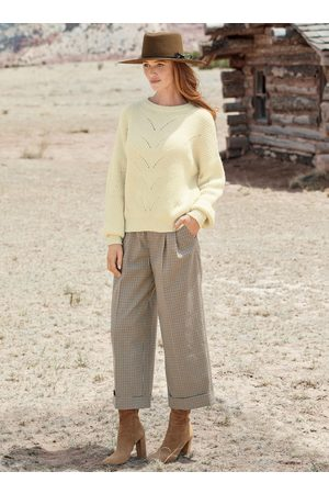 Peruvian Connection Berenson Cropped Trousers