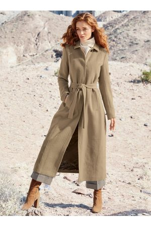 Peruvian Connection Leland Belted Baby Alpaca Coat
