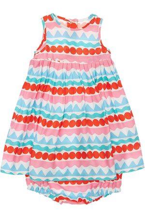 Stella McCartney Stripes Viscose Crepe Dress & Diaper