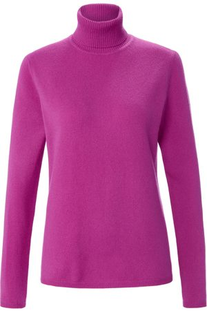 include Roll-neck jumper in pure new wool and cashmere bright size: 10