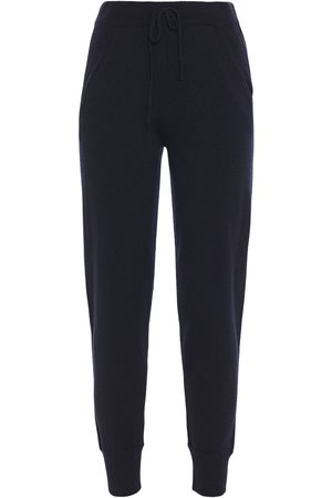 N.PEAL Women Trousers - Woman Cashmere Tapered Pants Navy Size L