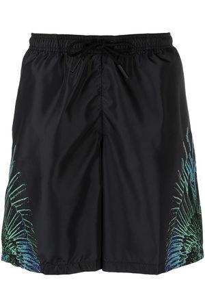 MARCELO BURLON Wings print swim shorts