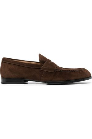 Tod's Leather low-heel loafers
