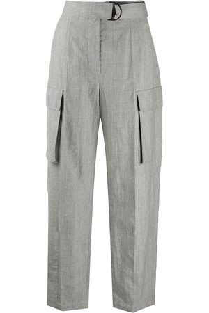 Brunello Cucinelli Cargo pockets high-waisted trousers