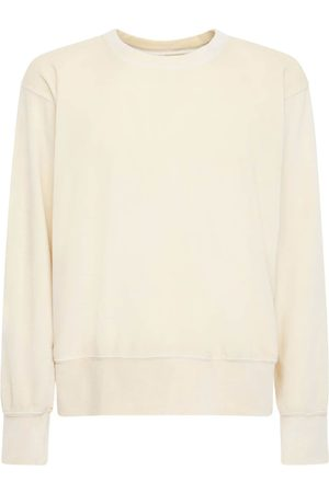 Les Tien Cropped Cotton Sweatshirt