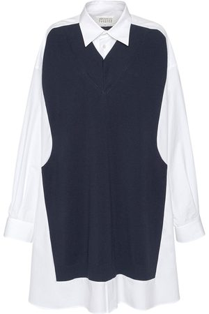 Maison Margiela Cotton Long Shirt Dress