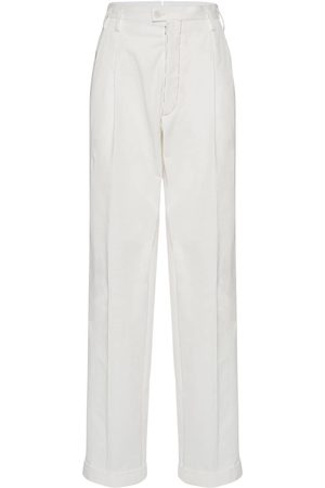 Maison Margiela Cotton Straight Leg Pants