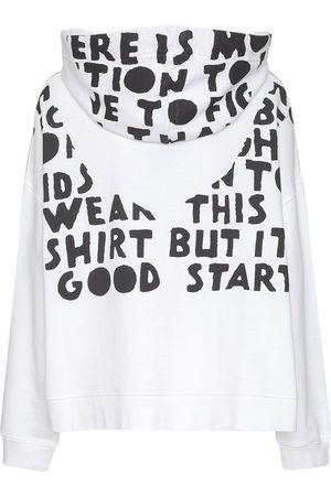 Maison Margiela Printed Cotton Sweatshirt Hoodie