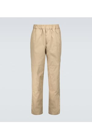 Jil Sander Relaxed-fit cotton chino pants