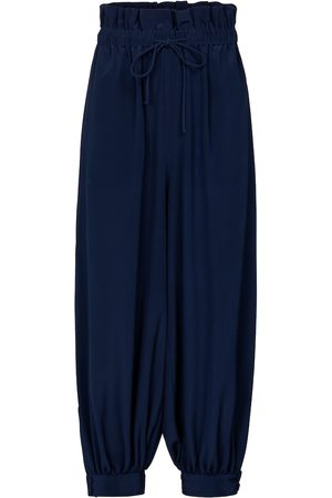 Stella McCartney Lauryn cuffed silk pants