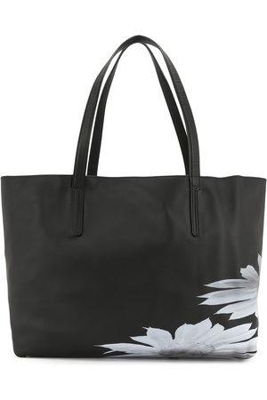 YOHJI YAMAMOTO Floral-detail tote bag