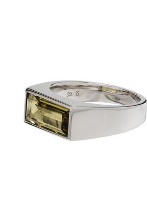 TOM WOOD Peaky Olive quartz ring