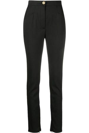 Balmain Split-ankle slim trousers
