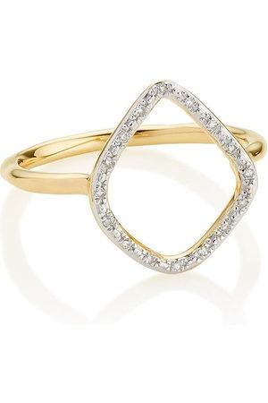 Monica Vinader Women Rings - Riva Diamond Hoop ring