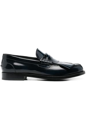 Burberry Fringed penny loafers