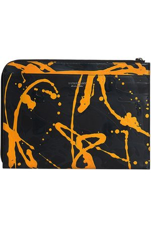 Burberry Splatter print document case