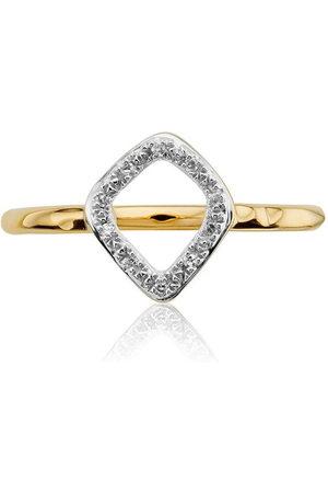Monica Vinader Women Rings - Riva Mini Kite Stacking Diamond ring