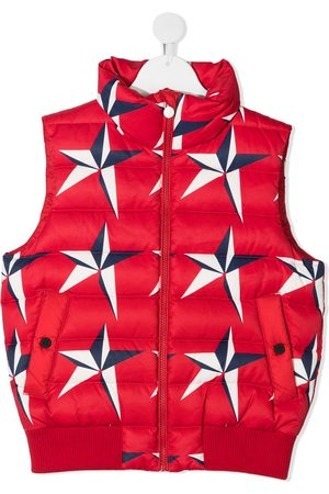 Perfect Moment Star-print quilted gilet