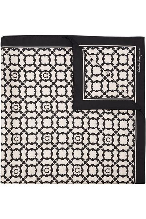 Salvatore Ferragamo Geometric print silk scarf