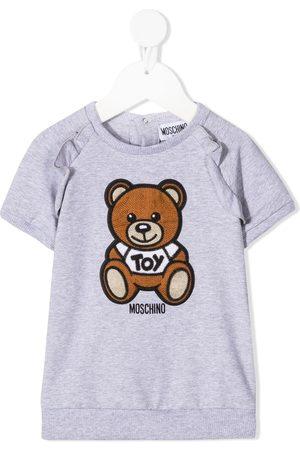 Moschino Crochet-embellished teddy bear dress