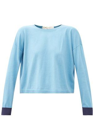 Marni Tie-back Cotton-blend Sweater - Womens