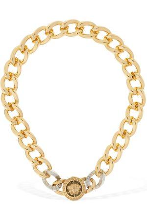 VERSACE Medusa Chunky Chain Short Necklace