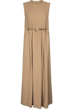 PETAR PETROV Alya wool-blend gabardine midi dress